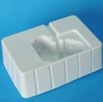 Custom Vacuum Formed Plastic Insert Tray for Gift Box/White PVC PET PS Plastic Blister