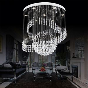 Tiffany Style Restaurant Crystal Chandelier Church Pendant Light