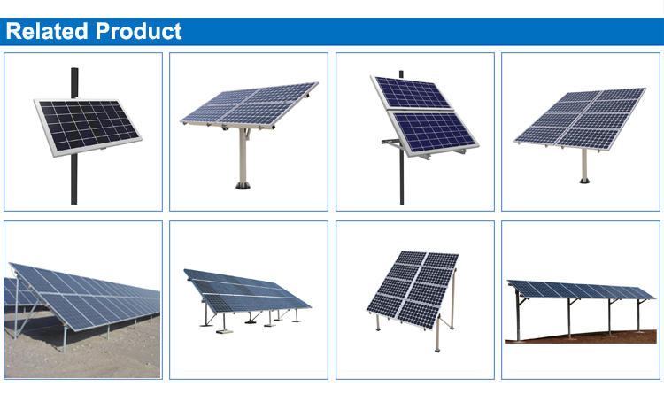 Ground Mount Solar Panel Ground Mounting Bracket