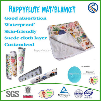 Happy Flute Baby Diaper Changing Mat Bed Waterproof Urinal