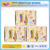 Pink printed Disposable baby diaper with sumitomo SAP