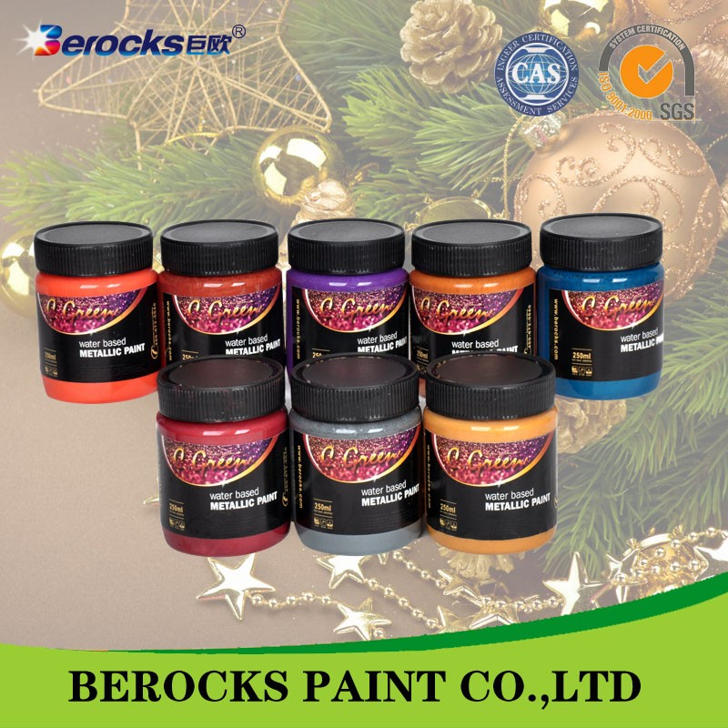 acrylic latex paint/metallic paint/metal waterproofing paint