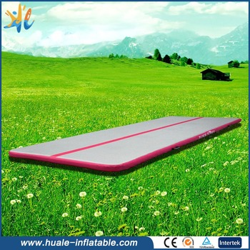 Gymnastics air track , tumble track inflatable air mat for sale