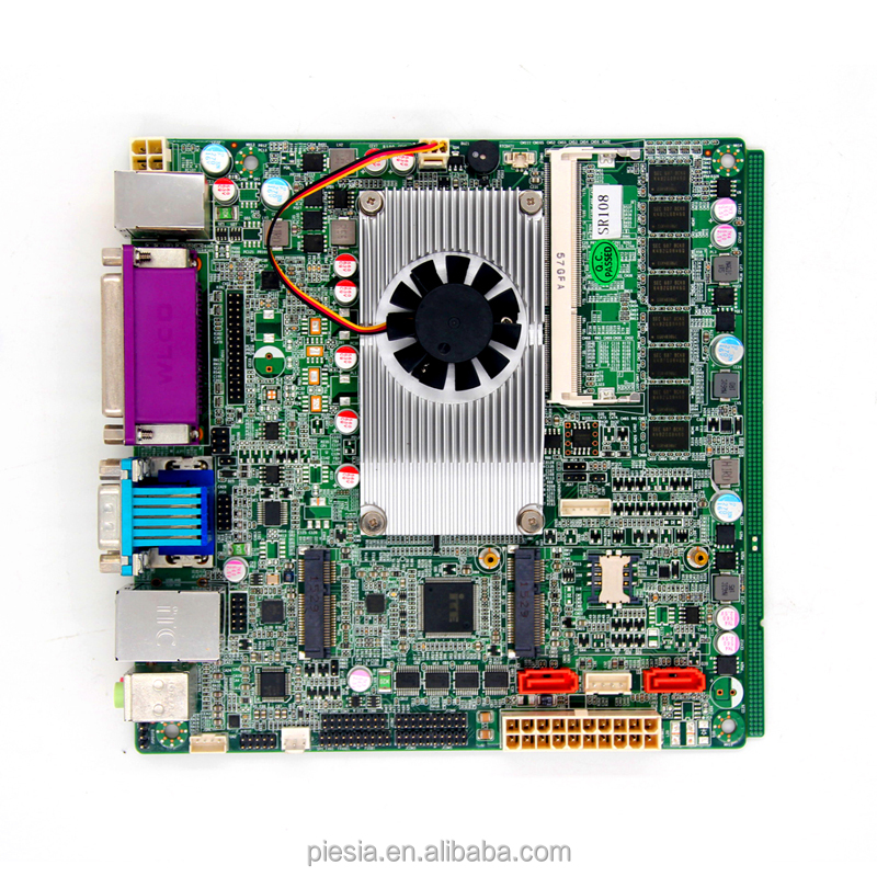 discount ultra-thin 1037u ITX motherboard dual-core industrial motherboard