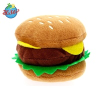 Stuffed Cotton Food Plush Bread Hamburger Toy
