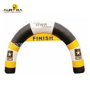 Top quality Customized inflatable start and finish line arches inflatable sport arch gate for sale