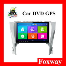 best selling Android 10.1inch screen Car dvd GPS for Toyota Camry 2012 2013 2014 2015