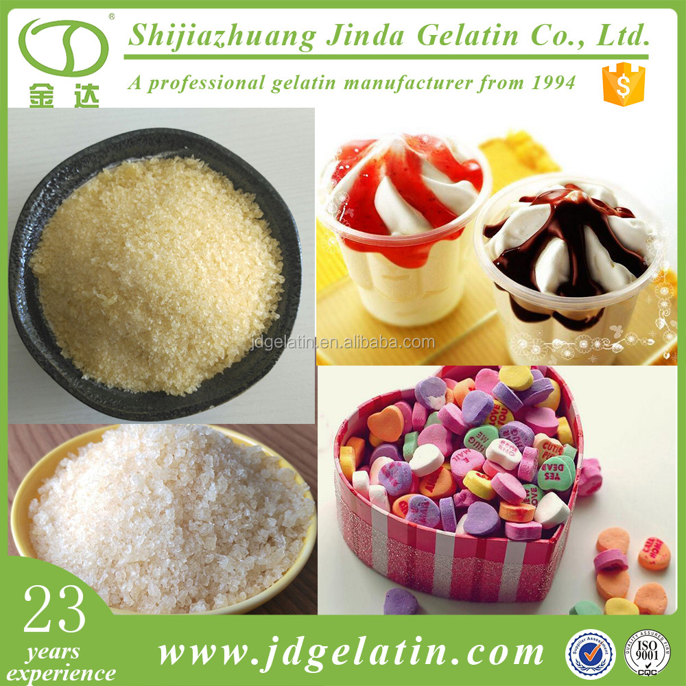 High quality Unflavored edible gelatin hydrolysate halal