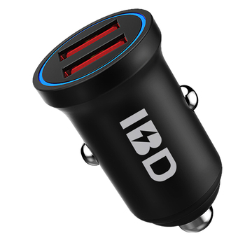 Ibd Aluminium Alloy (High) 저 (Speed 2 Port Usb Car Charger