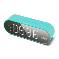 2019 New arrivals High Quality Alarm Clock Bluetooths Speaker With Fm Radio,Large Screen,Alarm Speaker