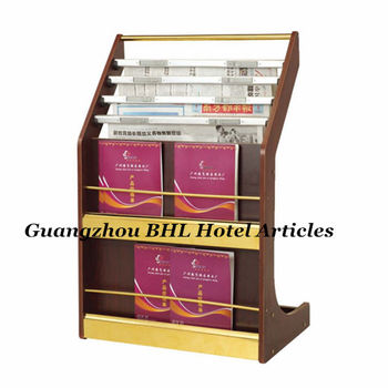 newspaper rack for office. High Quality Four-layer Wooden Office Furniture Newspaper Rack Magazine For Hotel E