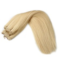 Factory price cheap wholesale high quality brazilian hair weave ailbaba china clip in hair extension