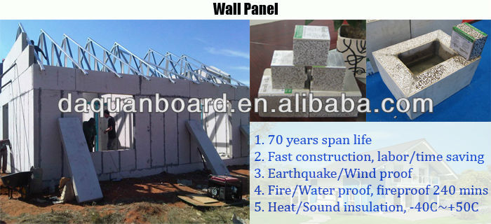 New Building Construction Materials For Rapid Wall, Shopping Malls And  Prefabricated House Construction