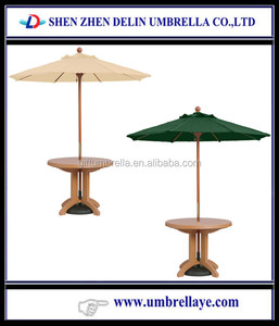 All good windproof Imported wood /china bamboo umbrella