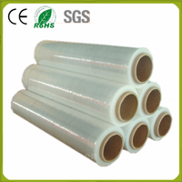 500mm x 23micron pe stretch shrink wrap plastic film industry