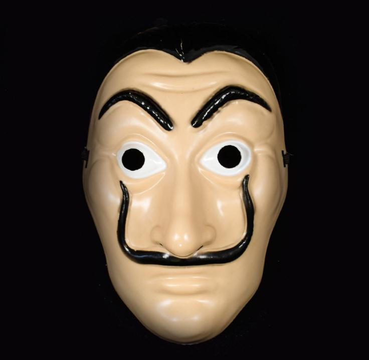 New Cosplay Mask La Casa De Papel Horror Face Masks Salvador Dali Bella  Bridge Halloween Decor Props   Buy Horror Mask,La Casa De Papel Mask,Dali  Mask ...