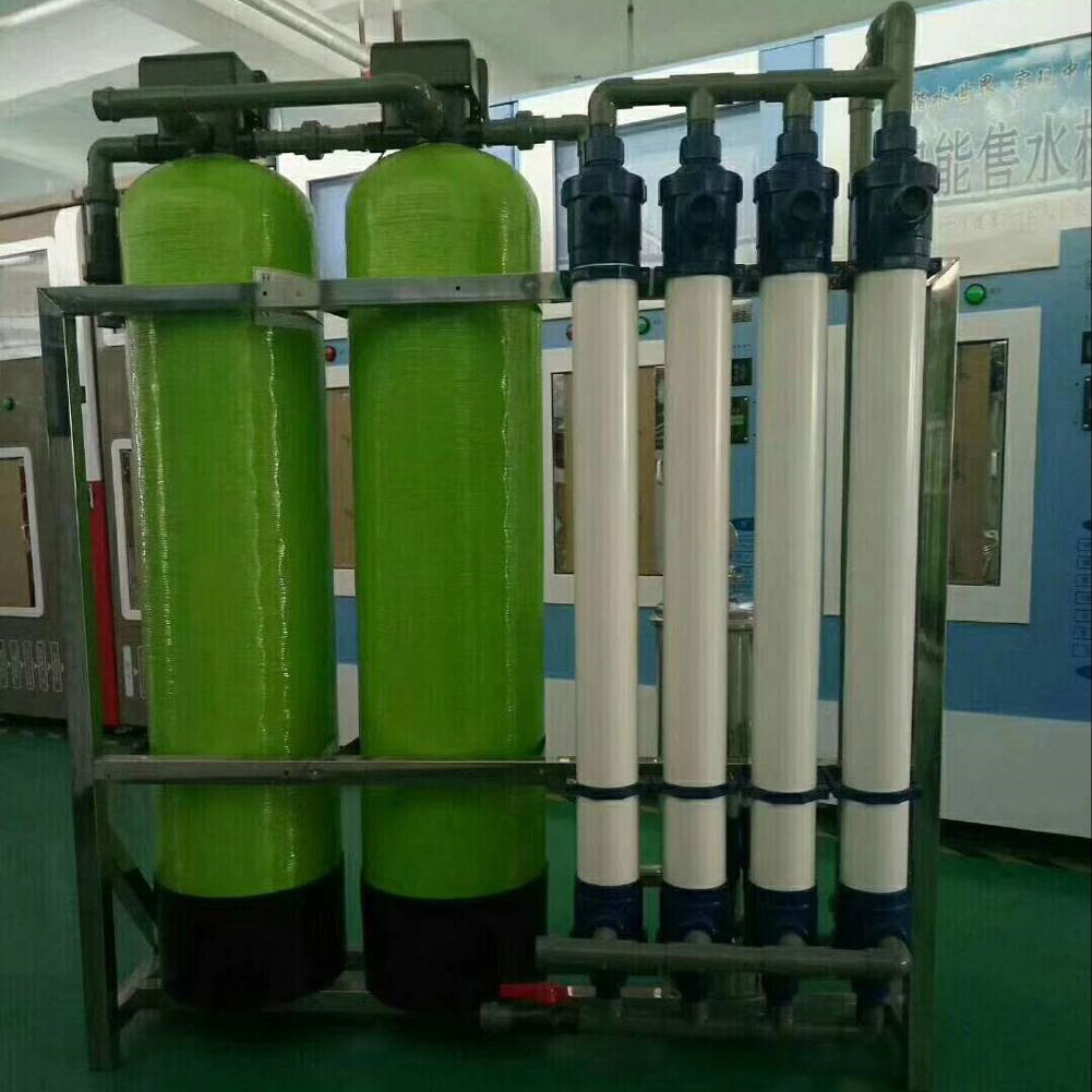 Full Automatic Ultra filtration UF Mineral Water Plant Price ZYCL