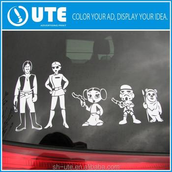 Customized vinyl car sticker printing car sticker car decals