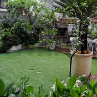 VIVATURF PU coating Chinese decoration artificial turf synthetic grass