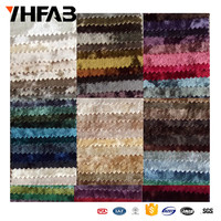 Wholesale China Alibaba Polyester Material Crushed Ice Velvet fabric Textile for sofa and curtain with Upholstery