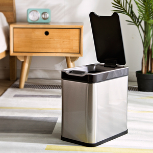Automatic electronic waste bin Sensor dustbin smart trash can