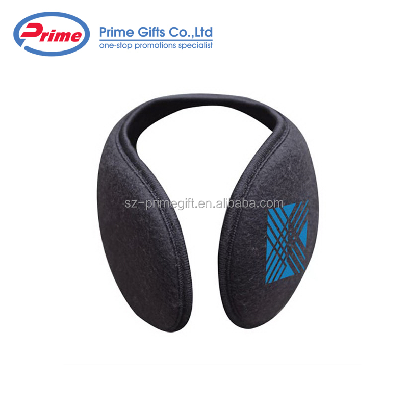 Promotional Polar Fleece Earmuffs/Ear Muff with Custom Logo