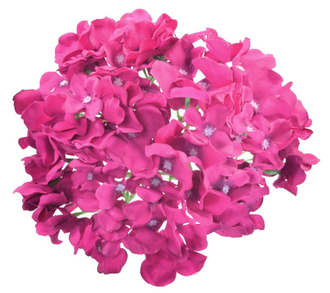 Buy 3 Pieces Artificial 6 Wisteria Flowers Bouquet For Bridal