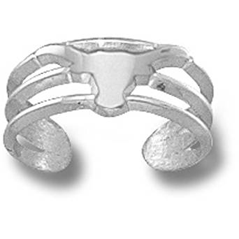 Texas Longhorns UT 1//2 Sterling Silver Cut Out Logo Natural Finish Charm