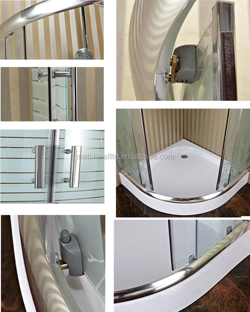 Aqua Glass Steam Shower