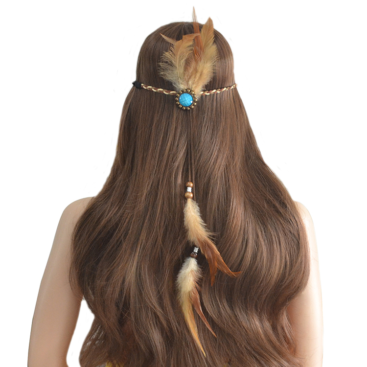 feather new design <strong>hair</strong> band,elastic band for <strong>hair</strong>,<strong>hair</strong> band <strong>accessories</strong>
