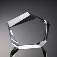 clear crystal glass blank cube and blocks for 3D laser noBC5