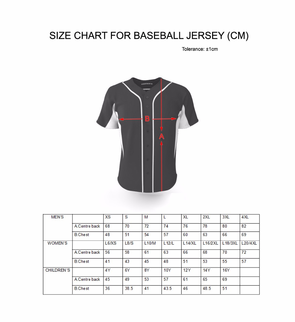 Fashionable custom baseball jersey mesh sportswear