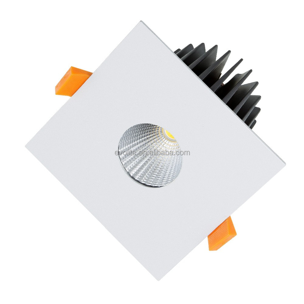 COB 7W,10W dimmable led spotlight IP65 Dia 50mm cutout 90mm 80mm hole