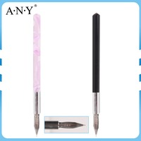 ANY New Arrival Cheaper Removable Tip Mini Acrylic Handle Nail Art Ink Painting Brush pen