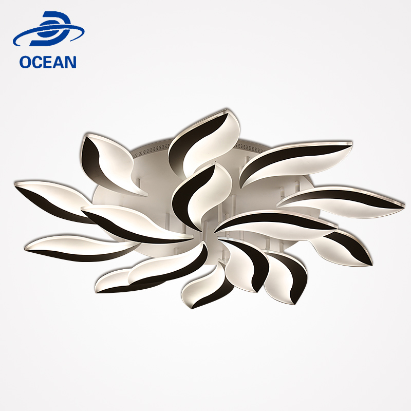 Ocean Quality Mount Led Restaurant Round Plastic Ceiling Light Covers