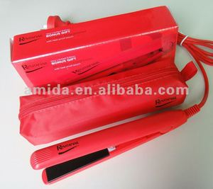 Approved by Marks&Spenser Mini Hair Straightener with free heat resistant bag