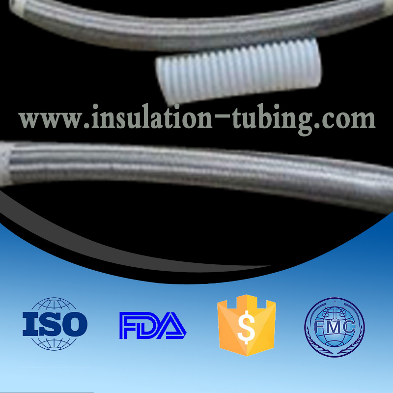Competitive Price S.S Wire Braide Ptfe Straight Tube Customized