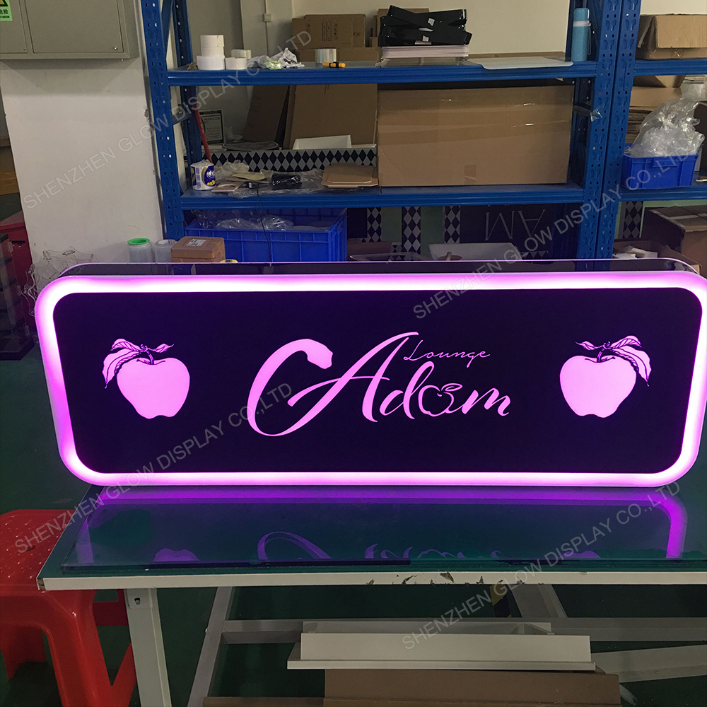 Lounge Bar Night Club Party Dubbelzijdig LED Verlichte Custom Thema Viering Message Boards