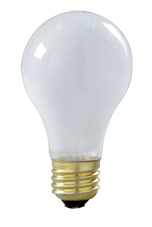 24Pk SUNLITE 500w PS35 130v Mogul Base Frost Bulb