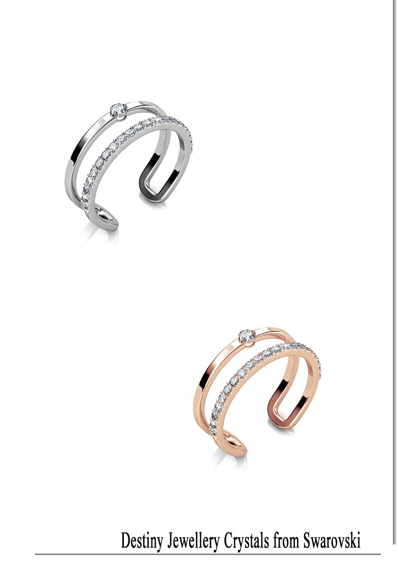 3d8543627d090 Destiny jewellery hot sales Dylis fashion Ring Embellished with ...