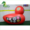 Outdoor PVC Giant Inflatable Floating Duck , Customized Inflatable Red Duck For Water Games Pool