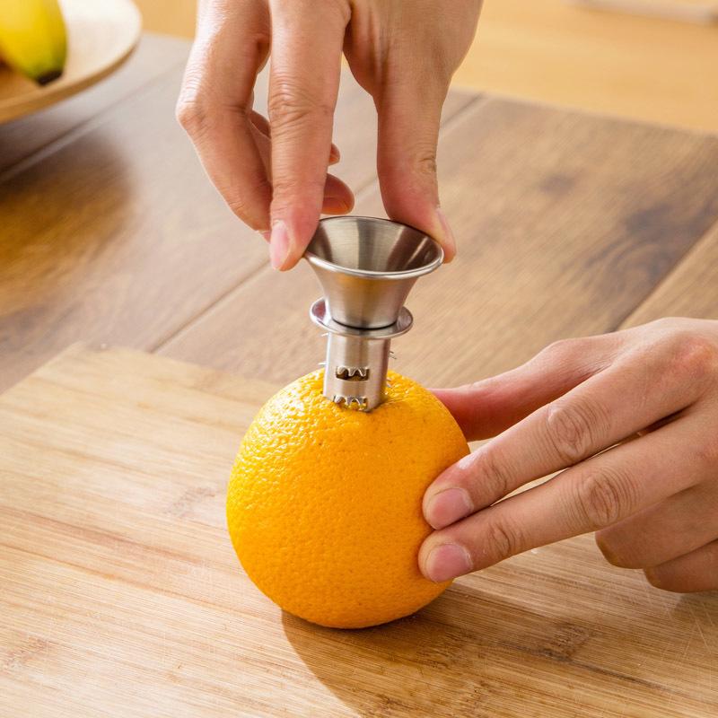 Wishome New Design Wholesaler Stainless Steel Juicer Lemon Squeezer фото