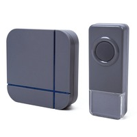 2017 Wireless Doorbell 300m Cordless Remote Control Waterproof Wireless Smart Door Bell+Push Button for Home/apartment/ Office