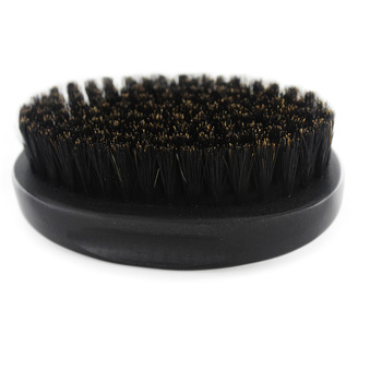 High Quality Crown Wave Brush Wooden Beard Brush With 100% Natural wild boar bristle