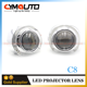CYMAUTO 3.0inch S-Max LED DRL light shroud with 2.5inch H1 Mini Hi/Low bi xenon Projector lens kit