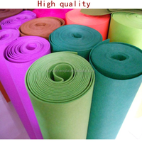 Eco-friendly 100% wool felt fabric for suit