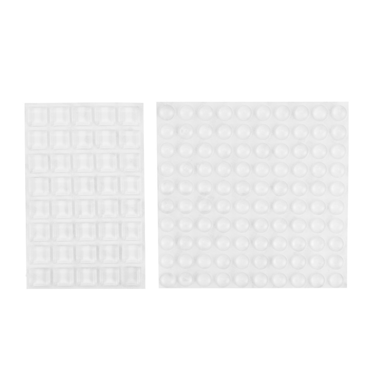 Furniture Bumpers,Lenink Feet Bumpers,140pcs Clear Adhesive Bumper Pads for Cabinet Drawer Door Walls Protection
