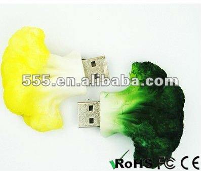 Vegetable USB Flash Drive, Food USB Pen Drive promotional gift