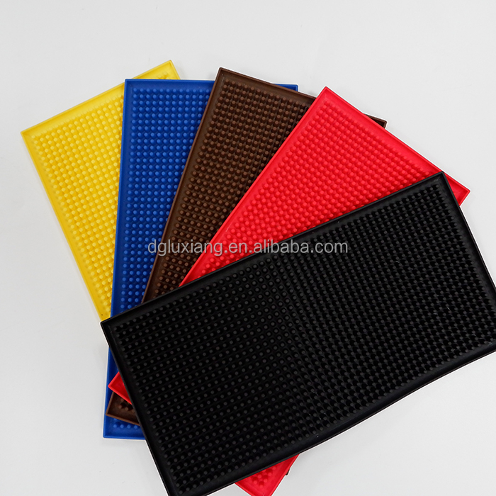 Eco-friendly PVC Personalizzato/Gomma Impermeabile Bar Drink Mat
