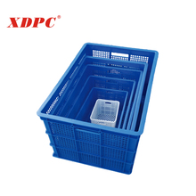 Used plastic container basket box crate soft shell crab farm